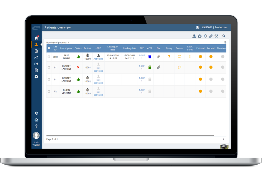Efficient and compliant eCRF software