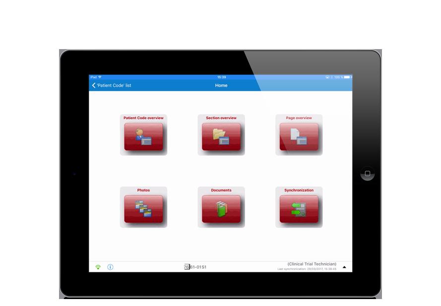 electronic data capture mobile ipad